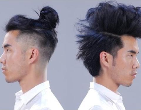 1 man 1 dozen hairstyles 2 amazing minutes