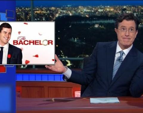 Stephen colbert mocks tinder the bachelor