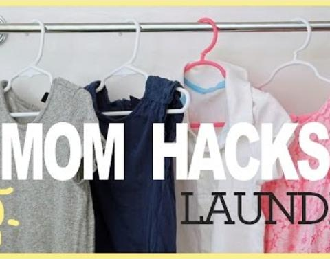These motherly laundry hacks will change your life