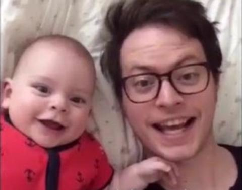 Amazing father creates daily dubsmash videos with baby son