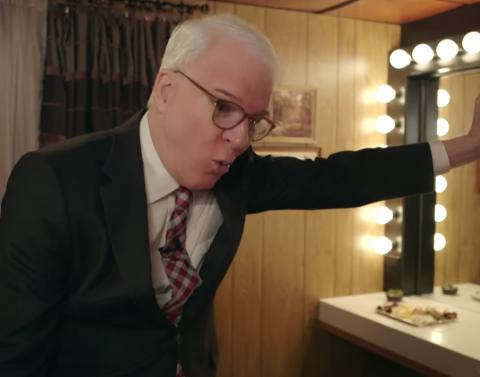 Steve martin really doesnt want to do the tonight show