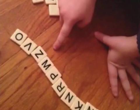 Adorable little girl spells grandma totally wrong