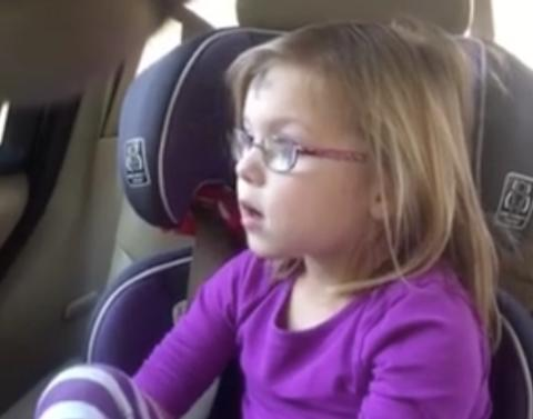 5 year old girl laments need to break up with boyfriend