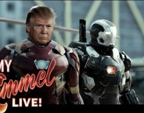Jimmy kimmel presents dot dot dot captain america civil war pres