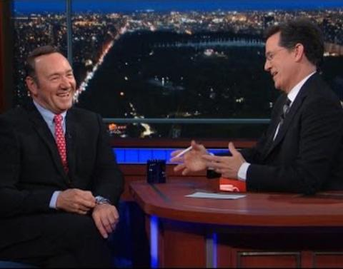 Stephen colbert wonders how house of cards keeps predicting the
