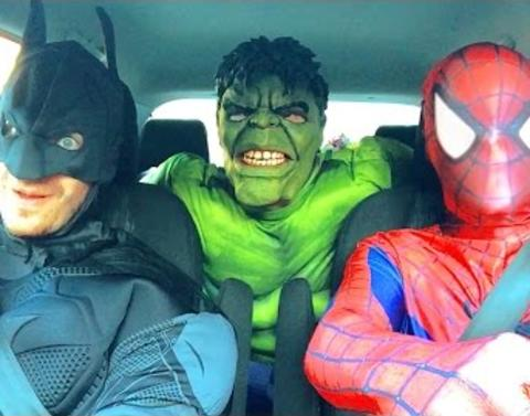 Watch these superheroes get their groove on
