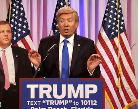 Jimmy fallon is donald trump in this tonight show clip