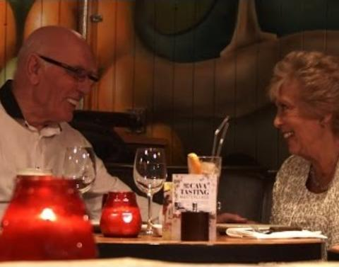 Lets sit in on this blind date between 80 year olds