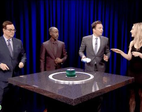 Jimmy fallon takes on don cheadle in catchphrase