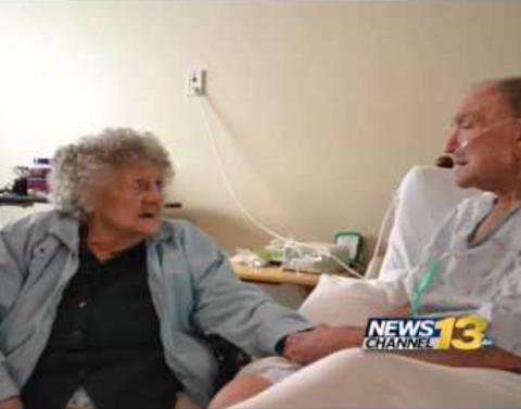 World war ii veteran sings dying duet with wife