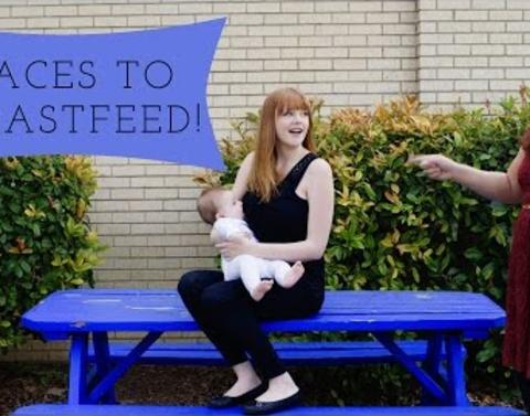Role model of a mother tries to normalize breastfeeding