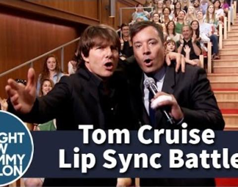 Tom cruise vs jimmy fallon watch their epic lip sync battle
