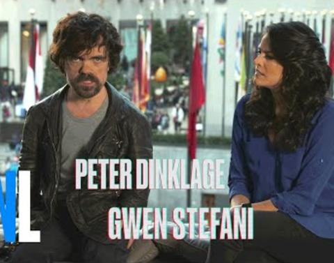 Peter dinklage offers dire warning in saturday night live promos