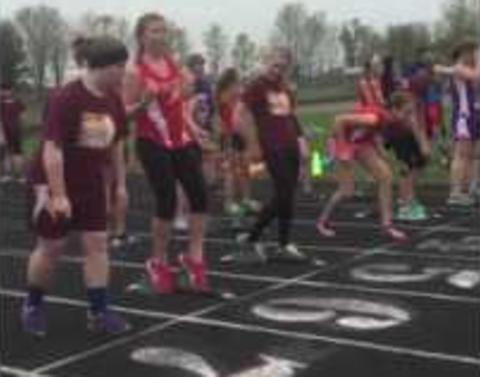 Middle school student gives herself no chance to win this race