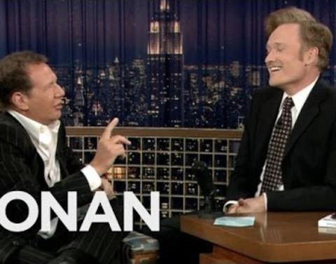 Conan obrien pays tribute to garry shandling