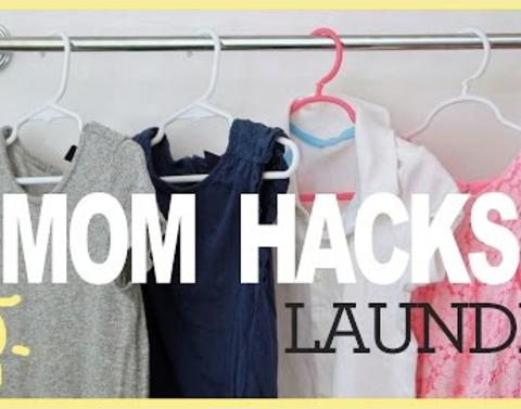 Laundry hacks busy moms need to know