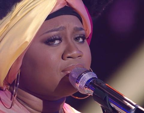 Laporsha renae owns american idol once again