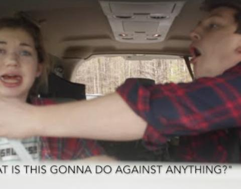 Brothers convince sister that a zombie apocalypse is nigh