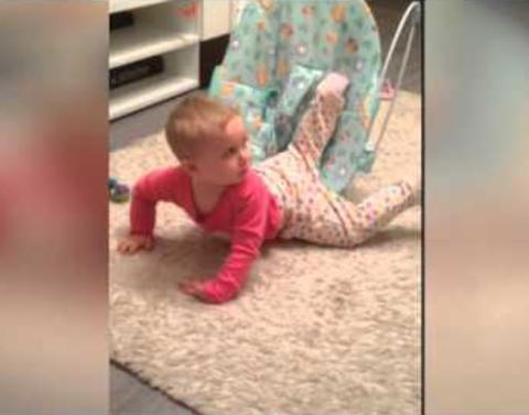 Toddler face plants no big deal