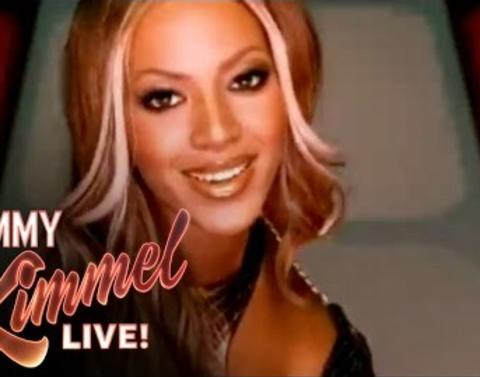 Beyonce has some tax advice for jimmy kimmel