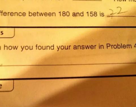 Because of math