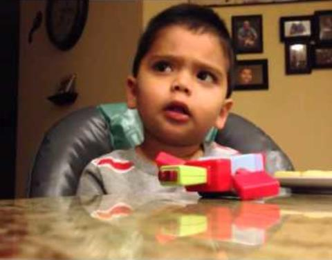 Little boy insists hes batman