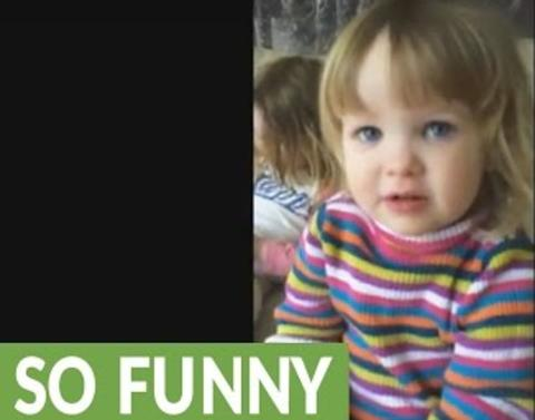 Little girl really messes up the word skunk